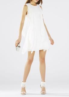 Lilie Sleeveless Cascade Ruffle Dress