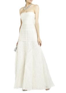 Marisa Long Layered Organza Gown