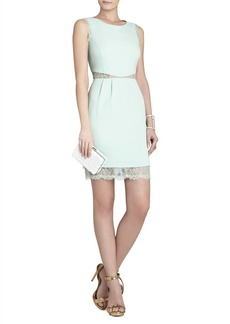 Maud Boatneck Dress With Lace Back