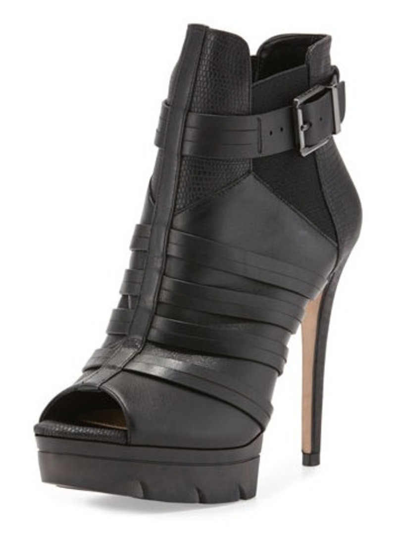 Bcbg Max Azria Heel Shoes  Black Open Toe