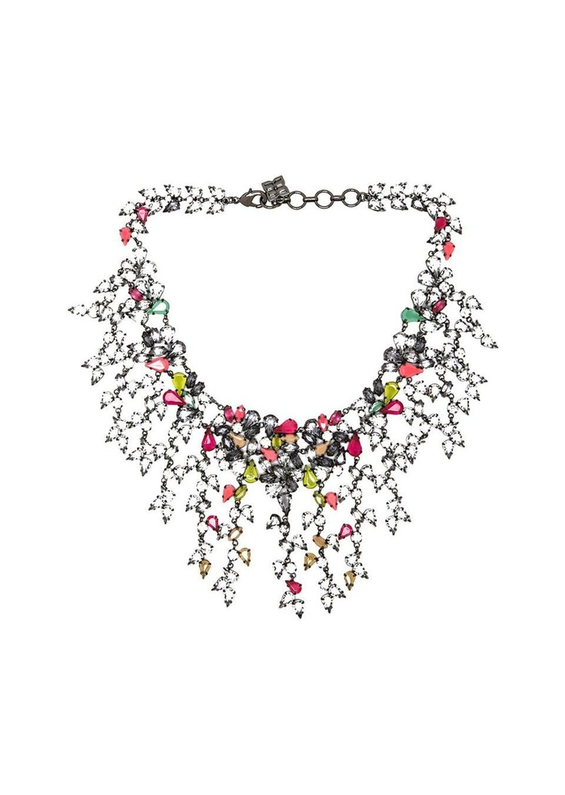 bcbg max azria bcbgmaxazria multi teardrop necklace