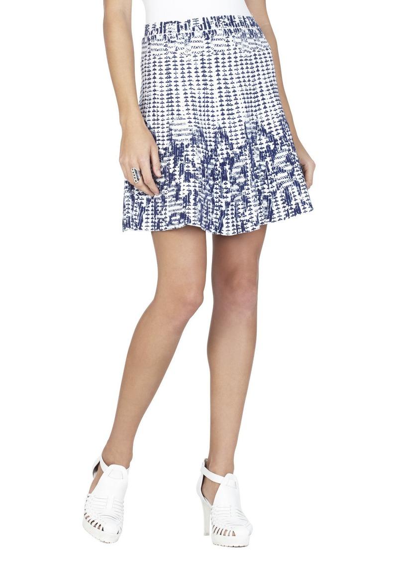 bcbg peyton ikat jacquard a line skirt skirts shop it