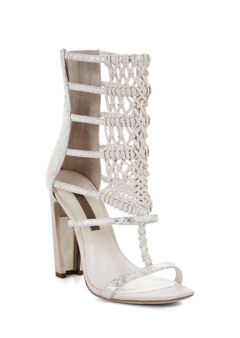 bcbg post high heel macrame day sandal shoes shop it to me
