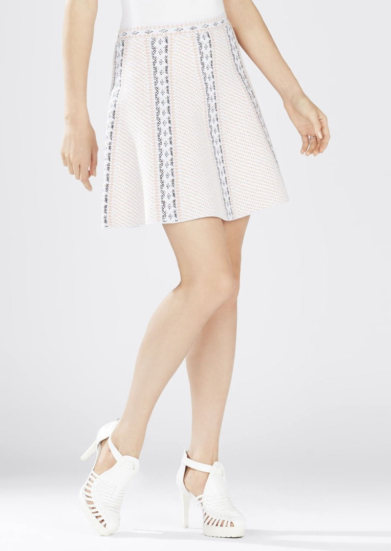 bcbg queeny jacquard a line skirt skirts shop it to me