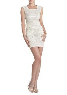 Renee Sleeveless Ruched-Side Dress