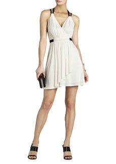 Saige T-Strap Wrap Dress