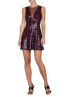 Selina Sleeveless Plunging V-Back Dress