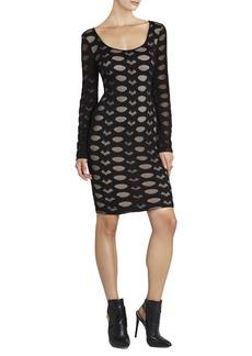 Tanya Long-Sleeve Lace Dress