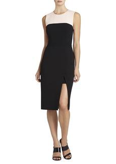 Tinna High-Slit Color-Blocked Dress