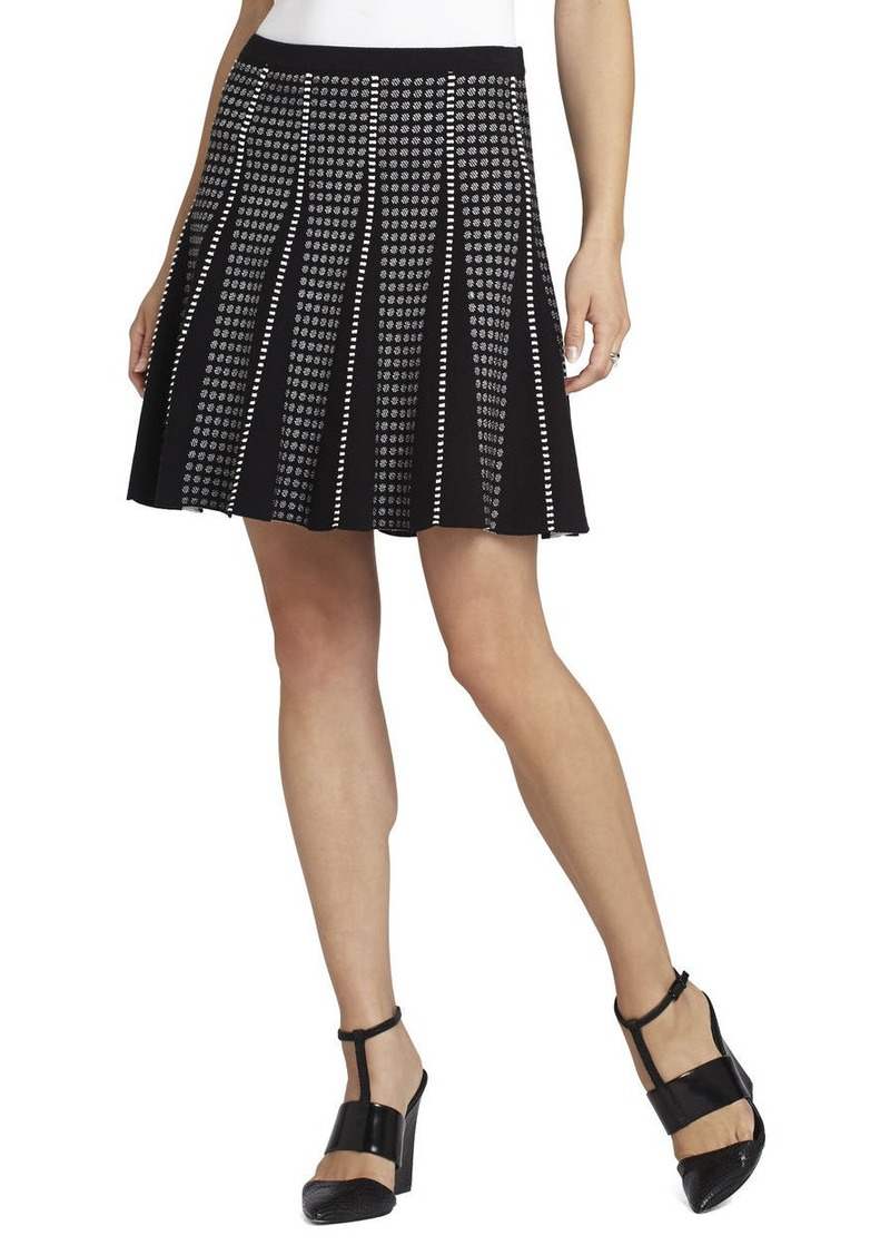 bcbg yaz piping trim a line skirt skirts shop it to me