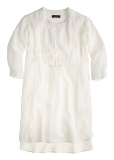 Bib tunic in gauze
