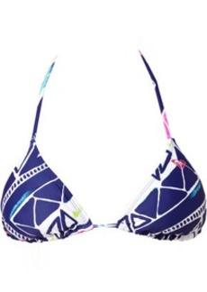 Roxy Graffiti Beach Reversible Tiki Triangle Bikini Top - Women's