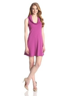 Three Dots Women's Cowl-Neck Tank Dress