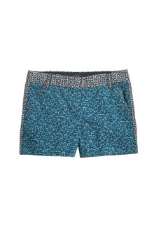 """3"""" chino short in flowerpatch print"""