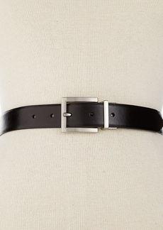 Calvin Klein Reversible Pant Belt with Nickel Buckle Belt