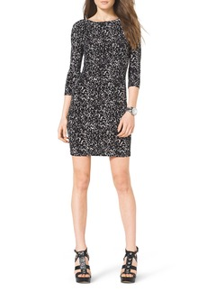 MICHAEL Michael Kors Slim Printed Jersey Dress