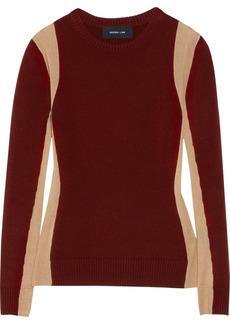 Derek Lam Paneled cashmere sweater