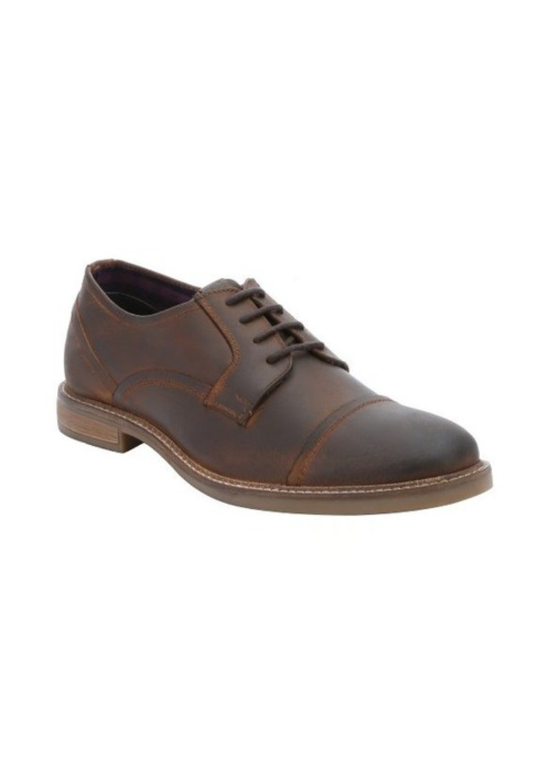ben sherman ben sherman cognac leather cap toe