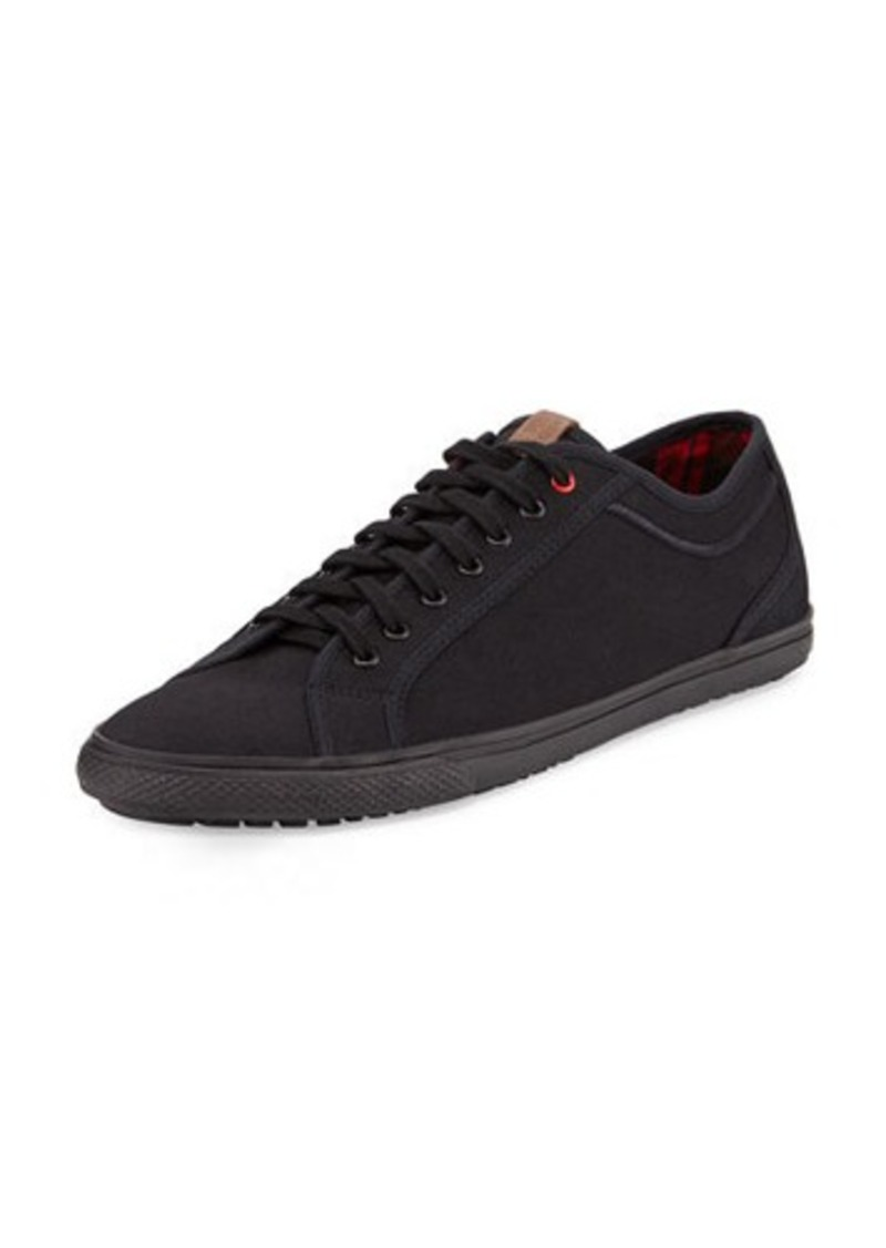 ben sherman ben sherman conal canvas lace up sneaker shoes shop it to me. Black Bedroom Furniture Sets. Home Design Ideas