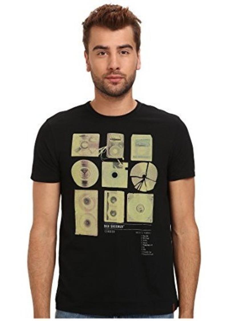 ben sherman ben sherman men 39 s modernites graveyard crew neck tee shirt casual shirts shop it. Black Bedroom Furniture Sets. Home Design Ideas