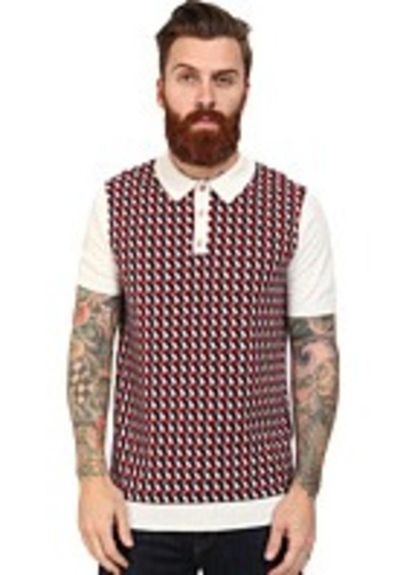 ben sherman ben sherman the pattern polo casual shirts shop it to me. Black Bedroom Furniture Sets. Home Design Ideas