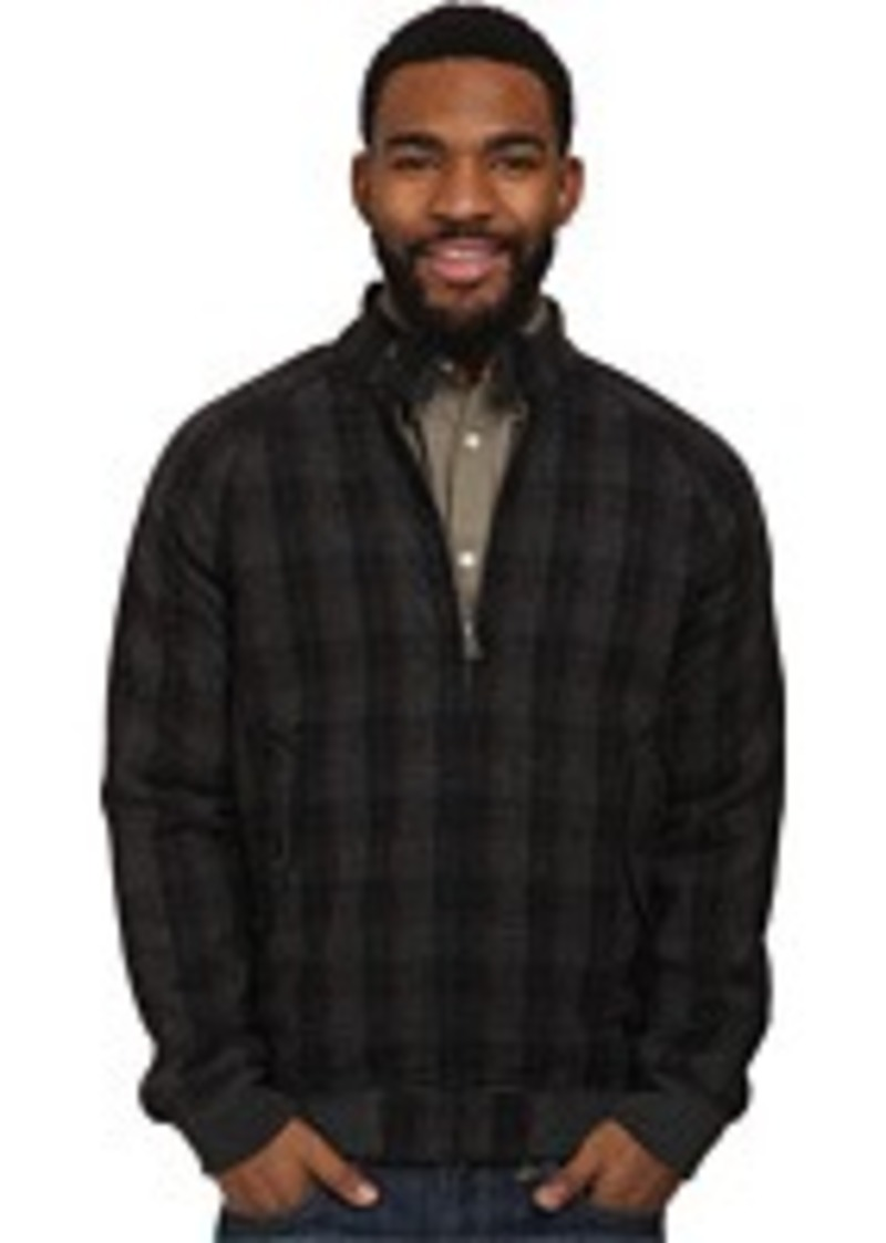 ben sherman ben sherman wool check harrington jacket mf10818a outerwear shop it to me. Black Bedroom Furniture Sets. Home Design Ideas