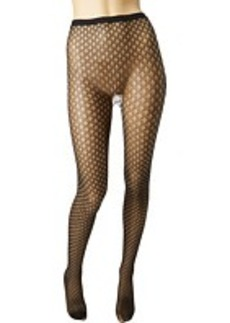 Betsey Johnson 2 Pack Pretty Pointelle Net Tight/Solid