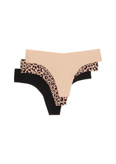 Betsey Johnson 3-Pack Forever Perfect Invisible Thong J2933P3