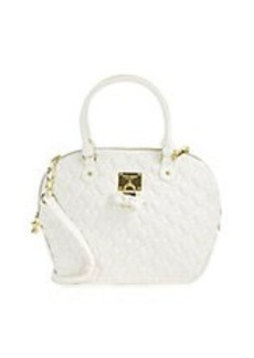 BETSEY JOHNSON Always Be Mine Heart-Quilted Satchel