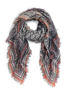Betsey Johnson 'Animal Party' Square Scarf