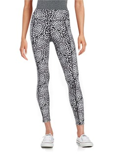 BETSEY JOHNSON Animal Print Athletic Pants
