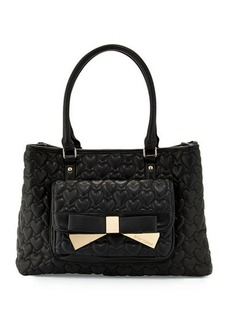Betsey Johnson Be Mine Forever East-West Tote Bag