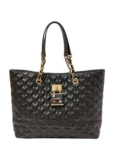 BETSEY JOHNSON Be My Baby Faux Leather Tote