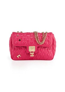 Betsey Johnson Be My Baby Quilted Satchel Bag