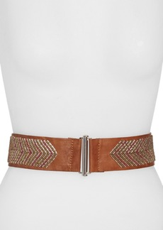 Betsey Johnson Beaded Stretch Belt