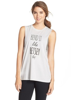 Betsey Johnson 'Bend It Like Betsey' Muscle Tee
