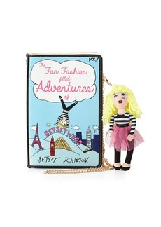 Betsey Johnson Betsey's Adventure Book Shoulder Bag