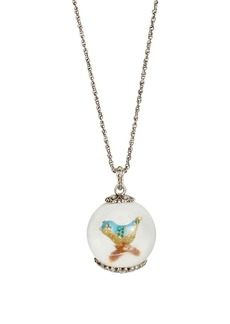 BETSEY JOHNSON Bird Pendant Necklace