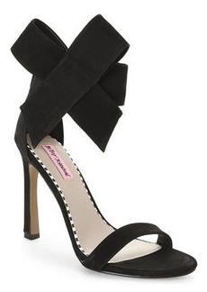 betsey johnson Black Friskyy Sandals