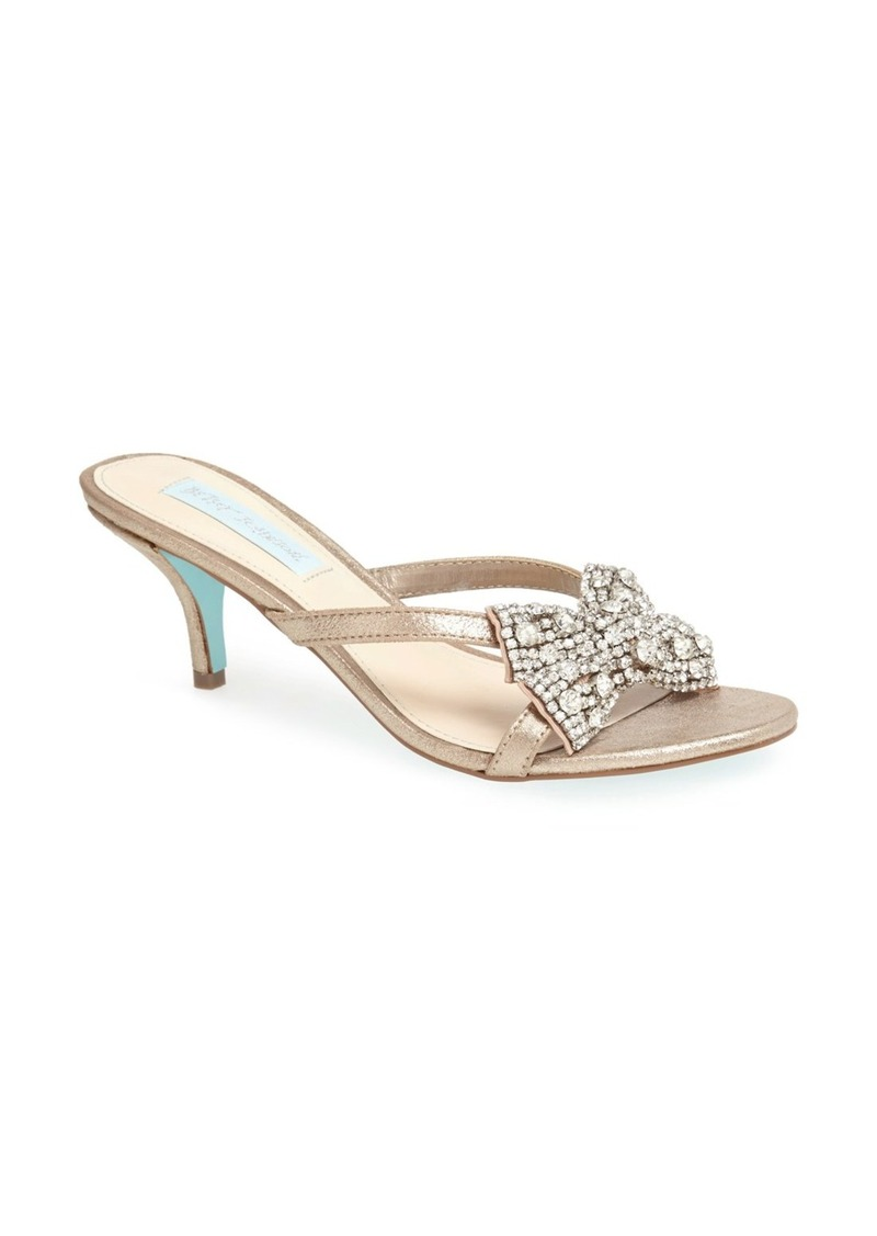 Betsey Johnson 'Blush' Sandal
