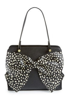 Betsey Johnson 'Bow Regard - Large' Satchel