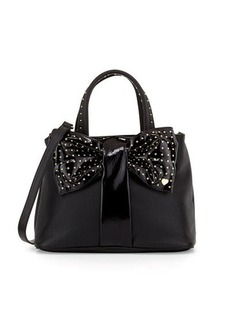 Betsey Johnson Bow-Tie Shopper Tote Bag