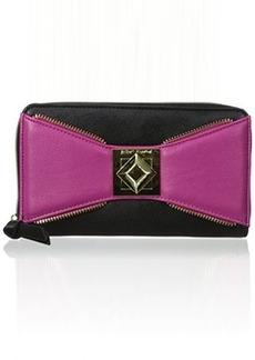 Betsey Johnson Bow Zip Around BJ33125 Wallet