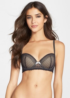 Betsey Johnson 'Budding Lace' Underwire Balconette Bra