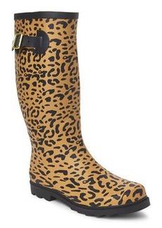 betsey johnson Cheetah Drizle Rain Boots
