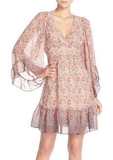 Betsey Johnson Chiffon Babydoll Dress