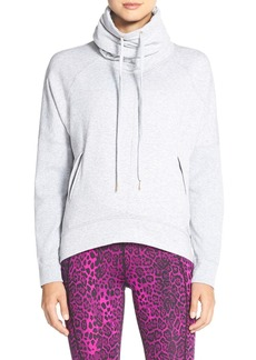 Betsey Johnson Cowl Neck High/Low Pullover