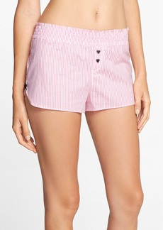 Betsey Johnson 'Cozy' Cotton Lawn Shorts