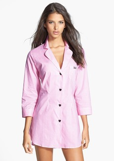 Betsey Johnson 'Cozy' Cotton Lawn Sleep Shirt
