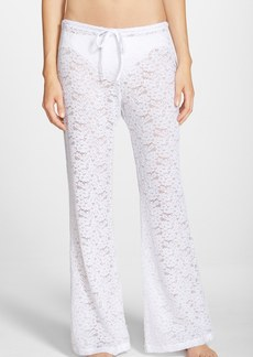 Betsey Johnson Crocheted Cover-Up Pants
